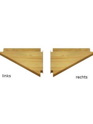 Lundia eind schap driehoek