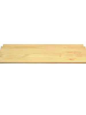 legplank / recht schap